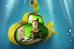 "Печатная реклама ""Lunch Bag no leak underwater""  Агентство: Provid"