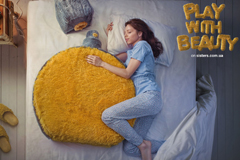 "Печатная реклама ""Женские игрушки - Perfume""  Агентство: Мичурин"