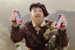 "Телереклама ""Scotch cola""  Агентство: THINKMcCANN  Рекламодатель: Carlsberg Group  Бренд: Ice Mix Scotch Cola"