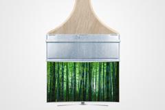 "Печатная реклама ""Bamboo""  Агентство: Cheil Kazakhstan  Рекламодатель: Samsung  Бренд: Samsung"