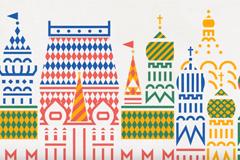 """Фирменный стиль """"Айдентика Москвы""""  Агентство: Depot WPF"""