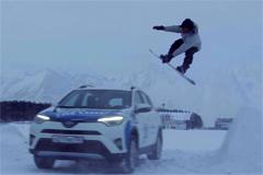 """Телереклама """"Снежная буря""""  Рекламодатель: Toyota Motor Corporation  Бренд: Toyota"""
