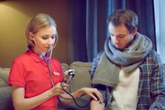 """Телереклама """"Мобильная клиника DOC+""""  Агентство: Milk Creative  Рекламодатель: DOC+  Бренд: DOC+"""